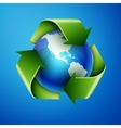Recycling Earth vector image