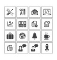 media icon sets vector image vector image