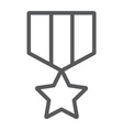 military star line icon label and army insignia