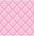 pink damask wallper vector image vector image