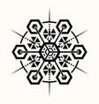 sacred geometry 0069 vector image vector image