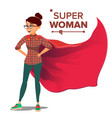 superhero business people successful vector image