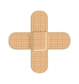 two bandages icon image vector image vector image