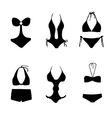 bikini bathing suit swim suit vector image vector image