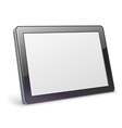 Blank tablet vector image