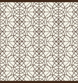 monochromatic grid seamless pattern vector image vector image