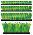 Artificial Grass - synthetic grass - artifi vector image vector image
