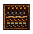 ethnic handmade ornament textile motifs classic vector image vector image