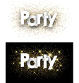 Party paper background vector image vector image