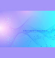 scientific genetic engineering vector image vector image