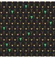 Abstract seamless pattern gold and dark gray1z1 vector image