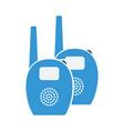 baby radio monitor icon vector image vector image