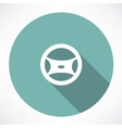 cars steering wheel vector image vector image