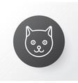 cat icon symbol premium quality isolated kitten vector image vector image