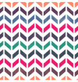chevron pattern seamless pastel colors vector image vector image