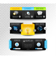 Collection of web elements - Various templates vector image vector image