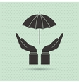 Insurance design Protection icon Flat vector image