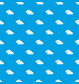 kind cloud pattern seamless blue vector image vector image