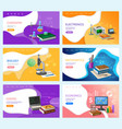 mathematics algebra and geometry web pages set vector image vector image