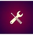 Repair Service simbol Tools singn vector image vector image