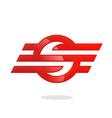 sport business logo S logo vector image vector image
