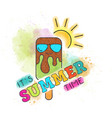 summer 69 vector image vector image