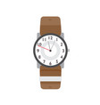 wristwatch flat modern vector image vector image