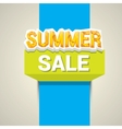summer sale label or sticker vector image