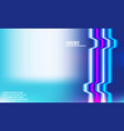 abstract gradient background design for web banner vector image vector image