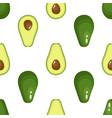 avocado pattern seamless vector image vector image