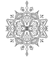 Coloring Leaves Mandala vector image vector image