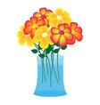 flower case vector image