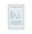 Graph sketch vector image