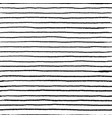 seamless stripe doodle pattern wavy linear doodle vector image vector image