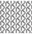 striped monochrome decoration abstract vector image