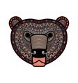 stylized Bear face vector image