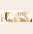 abstract background collection set vertical vector image