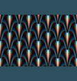 abstract stylized seamless pattern in gothic vector image vector image