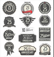 anniversary label collection 25 years