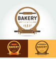 logo bakery for shops vector image