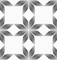Monochrome flowers forming squares vector image vector image