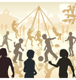 Playground kids vector image vector image