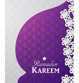 ramadan kareem 3d abstract paper cut