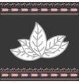 Rustic decorative style vector image