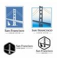 San Francisco 1 vector image vector image