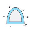 bridge icon design vector image