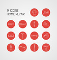 Home Repairs Icon Set vector image vector image