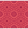 Kaleidoscopic floral pattern vector image vector image