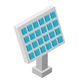 panel solar isometric icon vector image