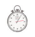 stopwatch flat timer sport vector image vector image